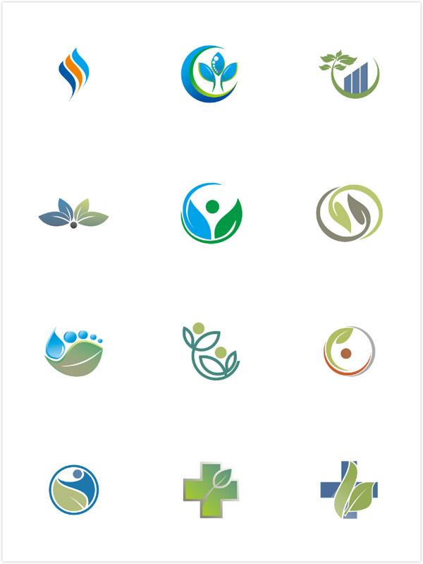 树叶,叶子,个性创意标志,标志图形,logo设计,创意logo图形,标志设计图片