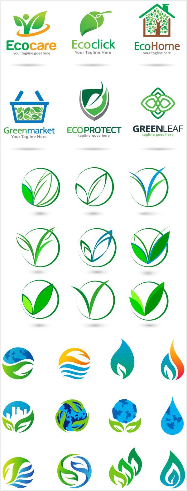 0 点 关键词: 时尚环保主题logo设计矢量素材,时尚图标,企业logo图片