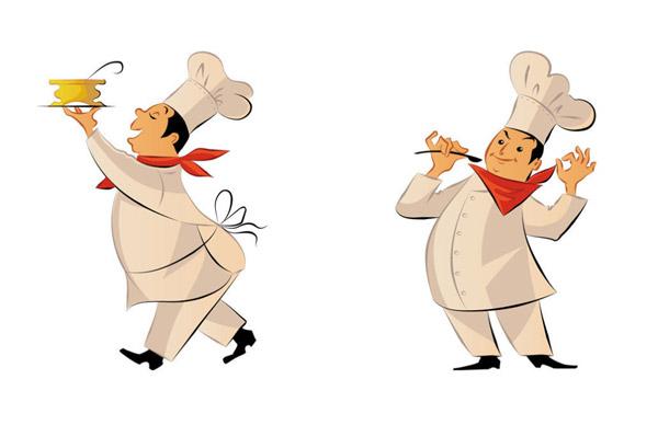 卡通画,卡通图片大全,卡通形象,矢量图,可爱卡通图片大全,矢量图,厨师