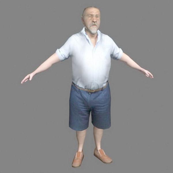 男性3d模型