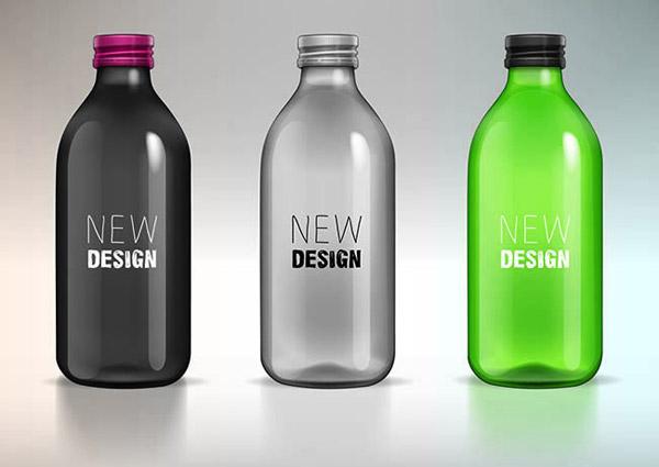 工业设计玻璃瓶