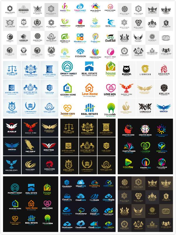 精美logo设计模板矢量素材