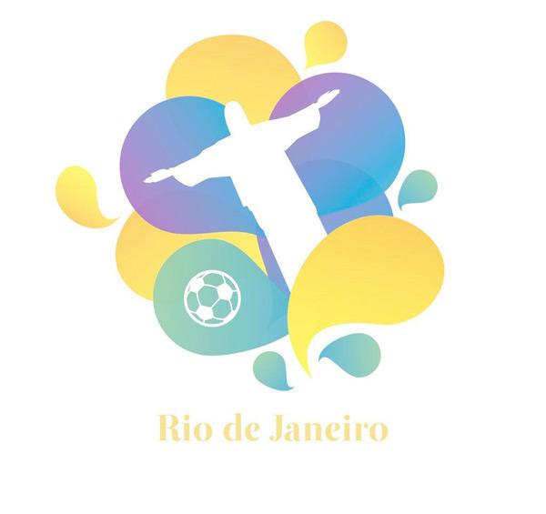 巴西奥运会背景图片