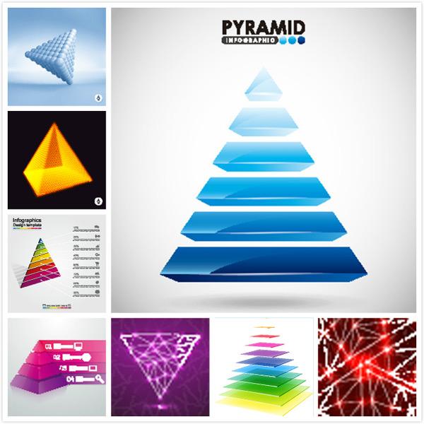 金字塔信息图表_素材中国sccnn.com