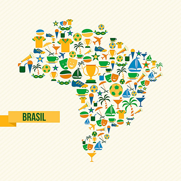 世界地图logo设计图