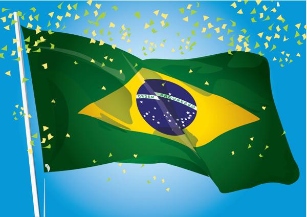 巴西国旗素材