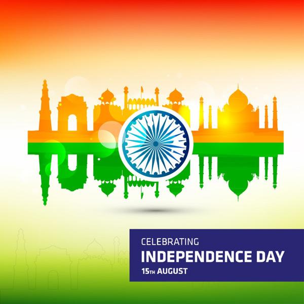 印度独立日海报