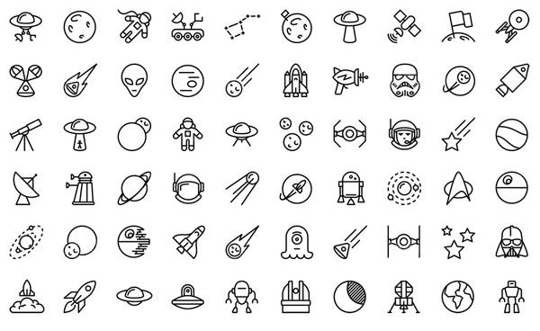 未来科技,线性图标,图标,icon,矢量图标,图标设计,图标素材,图标图形