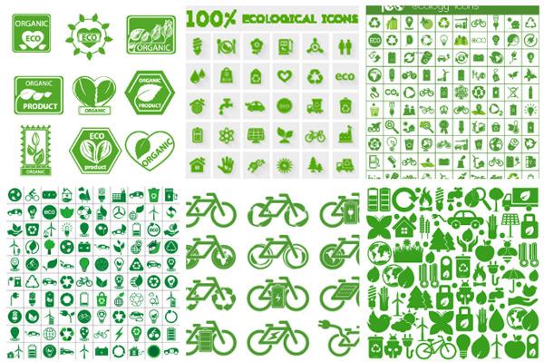 生态环境保护图标