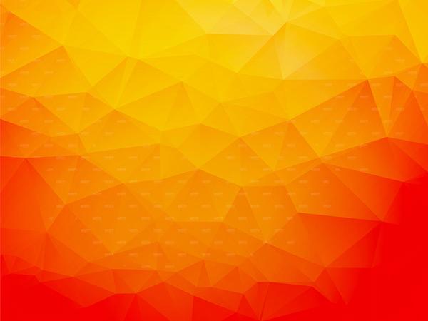 多边形背景,质感背景,渐变背景,梦幻背景,橙色背景,几何图案,棱角