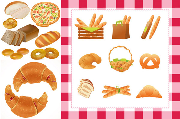 Pastry vector material