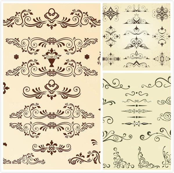 素材分类: 矢量花纹所需点数: 0 点 关键词: 古典欧式花纹矢量素材图片
