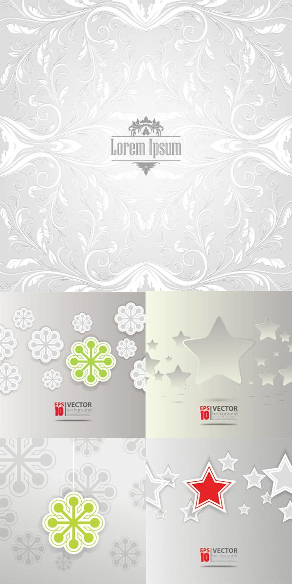 圣诞节与新年剪纸 素材中国sccnn Com