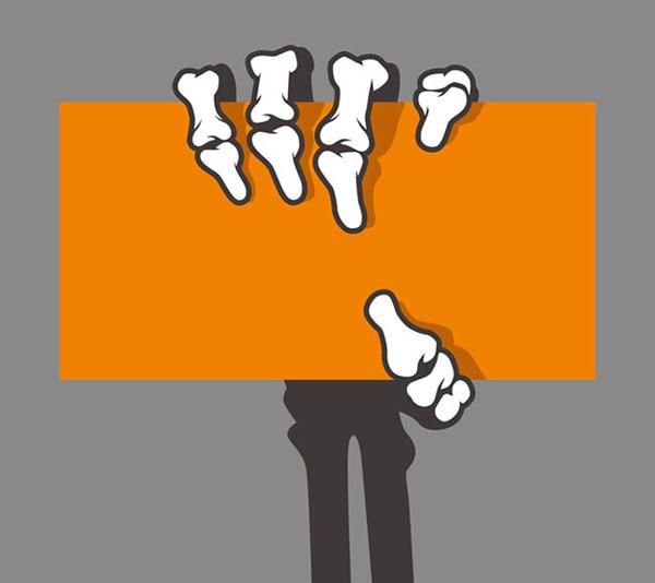 0 点 关键词: 恐怖白骨爪子设计元素矢量图下载,白骨,爪子,设计元素