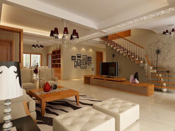 0 点 关键词: 客厅装修模型免费下载,时尚,客厅,楼梯,沙发,棕色,沙发