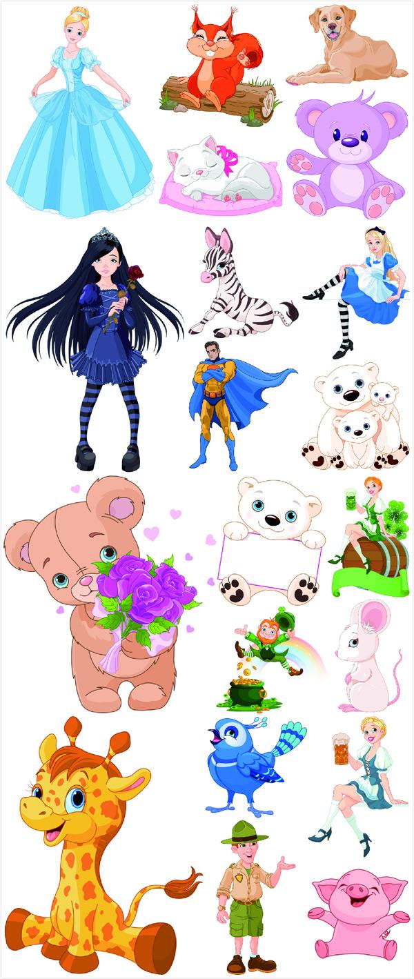迪士尼白雪公主的动物