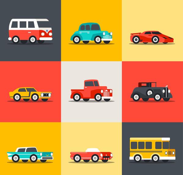素材分类: 矢量交通所需点数: 0 点 关键词: 车辆设计矢量图下载,轿车