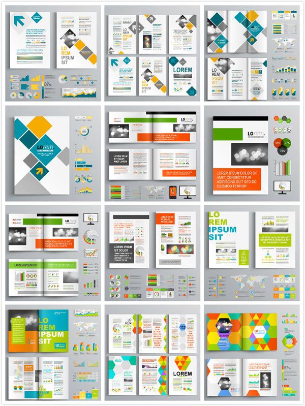 个性画册排版设计矢量素材,商务主题,创意商务,简约折页,单页,DM单,几何,三角形背景,折页设计,折页背景,折页版式设计,创意画册设计,图册设计,宣传册模板,册子设计,几何图案,画册设计,广告设计,矢量素材,EPS