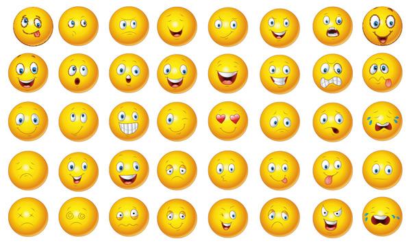 0 点 关键词: 黄色小人表情包矢量素材,卡通表情,创意表情包,平面