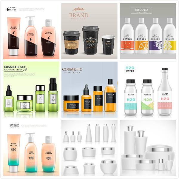 0 点 关键词: 包装创意设计矢量素材,组合装,时尚用品,品牌高档,精美