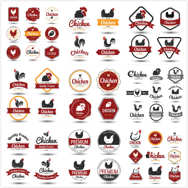 0 点 关键词: 公鸡创意标签设计矢量素材,黑色,公鸡,标贴,品质标签