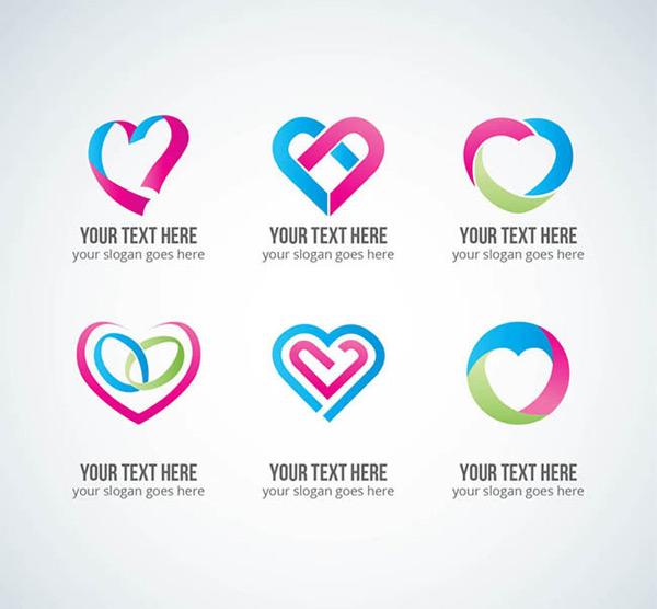 标志元素爱心男主心脏病女主室内设计师图片