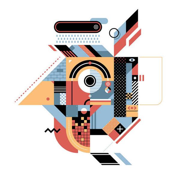 几何图形,抽象