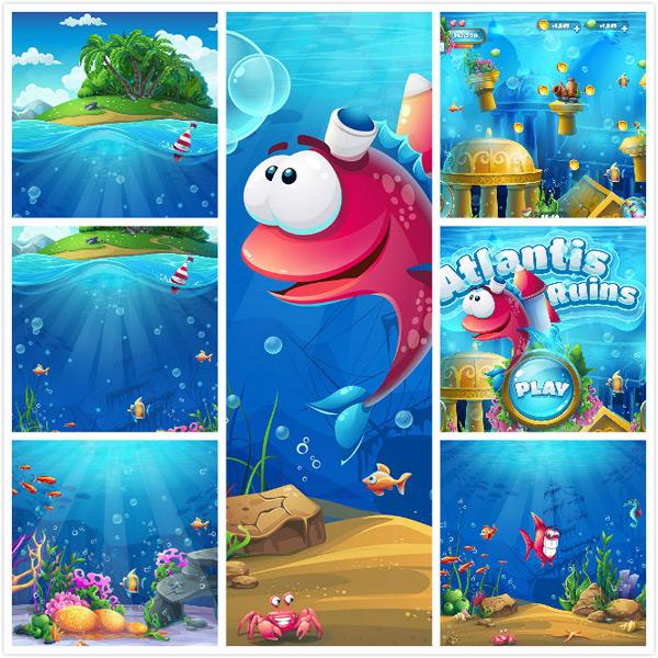 海岛游戏界面_素材中国sccnn.com