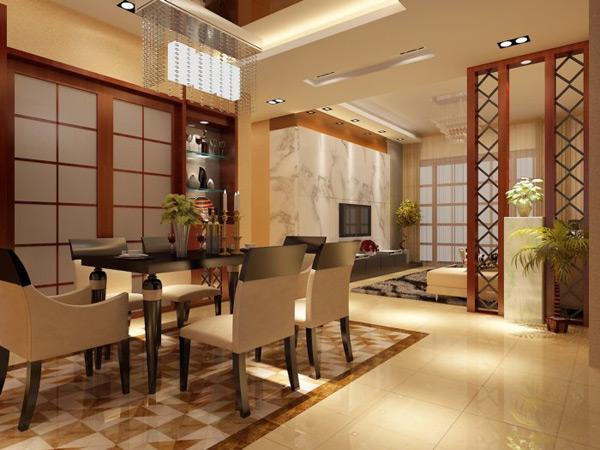 [中式餐厅模型]中式