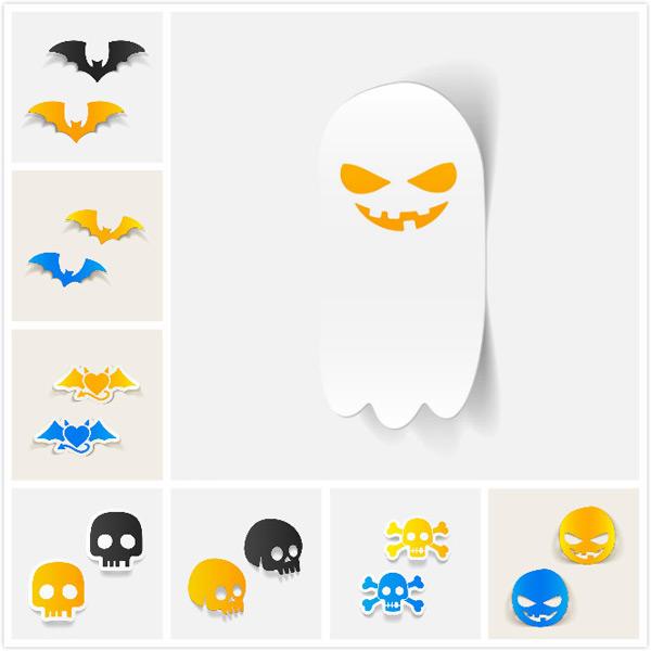 纸质骷髅蝙蝠