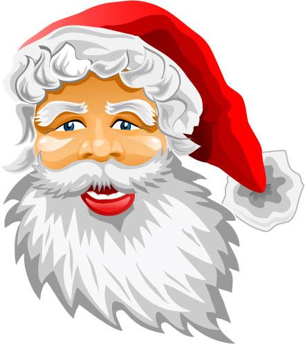 矢量圣诞节所需点数: 0 点 关键词: 圣诞老人卡通头像,圣诞节,圣诞