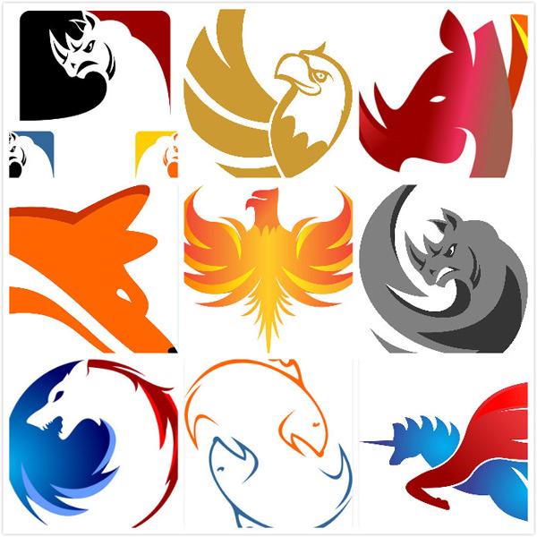 素材分类: 矢量logo图形所需点数: 0 点 关键词: 创意动物标志图形