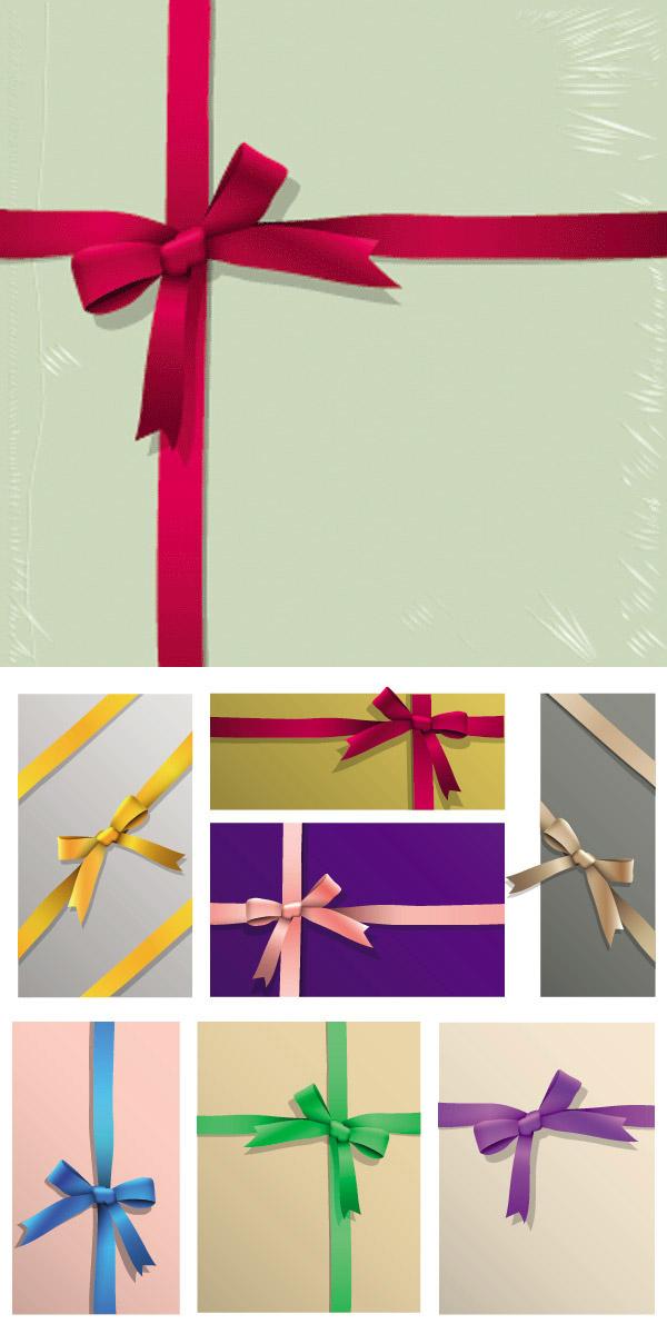 彩带包装,蝴蝶结,礼品包装