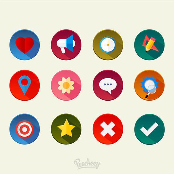 0 点 关键词: 多彩图标矢量图下载,多彩,图标,标签,心形,喇叭,星星