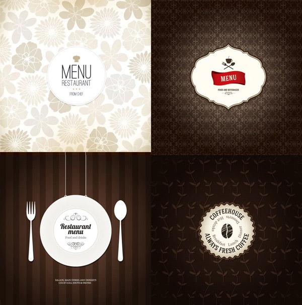 创意菜单封面_平面广告