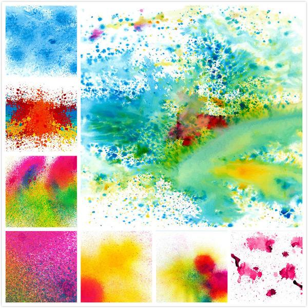 喷溅颜料彩色背景矢量素材,动感色彩,喷溅的颜料,创意喷溅,色彩喷溅,彩色颜料,水彩油漆背景,矢量素材,动感色彩,喷溅,水墨喷溅,水彩斑点,油漆喷溅,背景,晕染,EPS