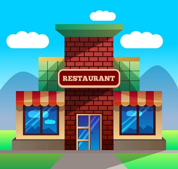 创意餐馆设计_素材中国sccnn.com