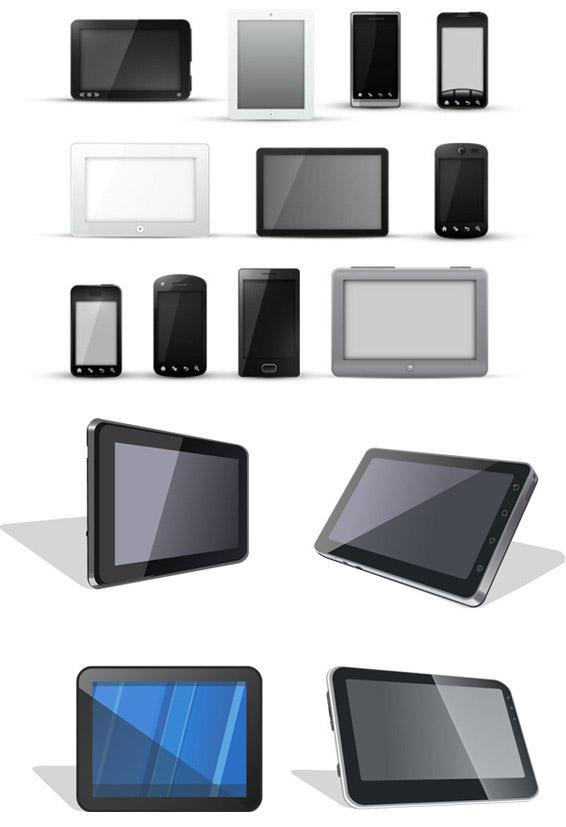 矢量科技所需点数: 0 点 关键词: 电子产品模板矢量素材,电子产品,模