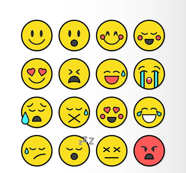 0 点 关键词: 圆形表情设计矢量图下载,圆形,表情,笑脸,惊讶,害羞,可图片