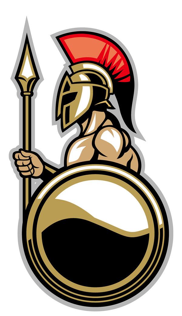 士兵,罗马士兵,拿剑的勇士,带头冠的士兵,拿着盾牌的勇士,iconlogo