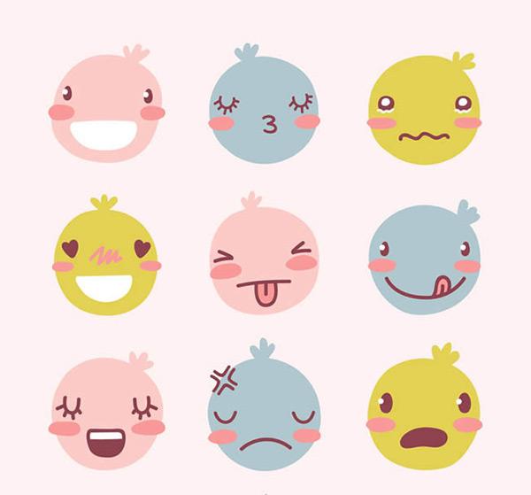 0 点 关键词: 卡通可爱包子脸表情矢量图下载,笑,哭泣,吐舌,美味
