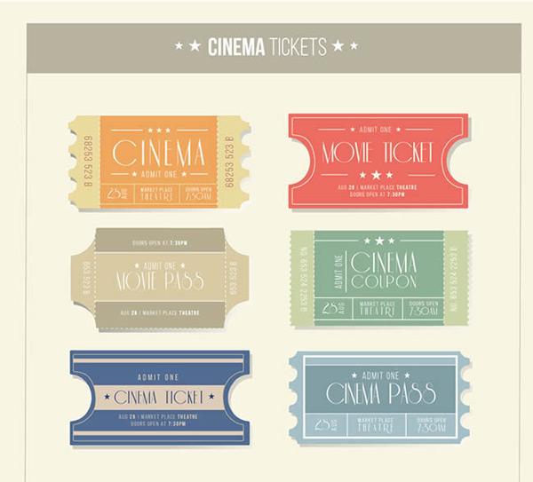 纸质电影票