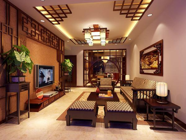 中式家具模型