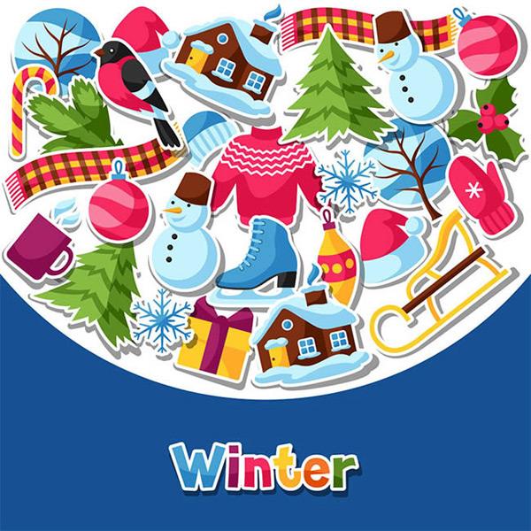 冬季主题元素