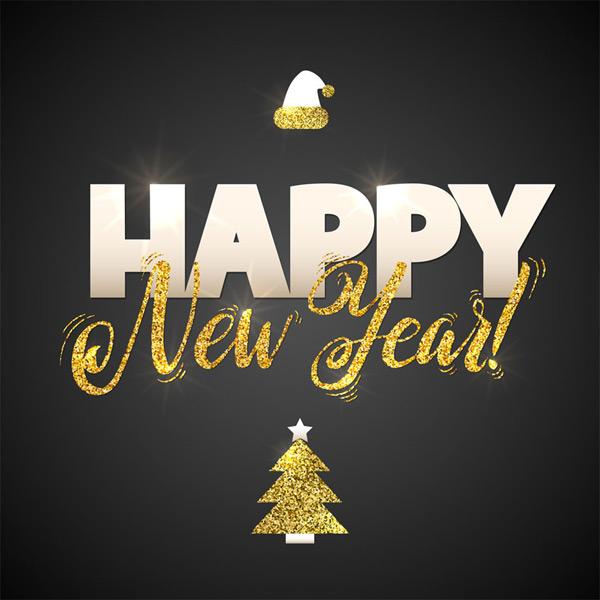 新年快乐字体