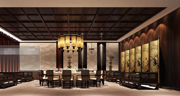 中式古典包间