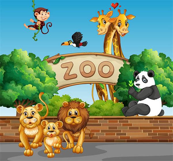 动物园里的动物