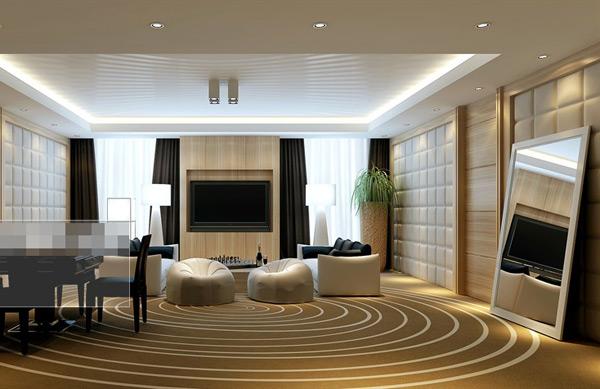 休息室模型