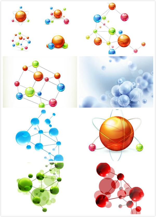 分子基因,微观分子图,生物化学,分子结构图,化学分子结构图,有机分子图片