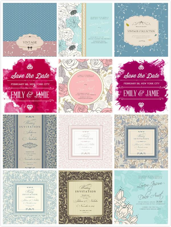 玫瑰花背景,婚礼请柬,婚礼请柬模板,邀请函,温馨请帖,蔓草纹,请帖,料